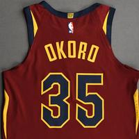 Isaac Okoro - Cleveland Cavaliers - Kia NBA Tip-Off 2020 - Game-Worn Icon Edition Jersey - NBA Debut (5th Overall Draft Pick)