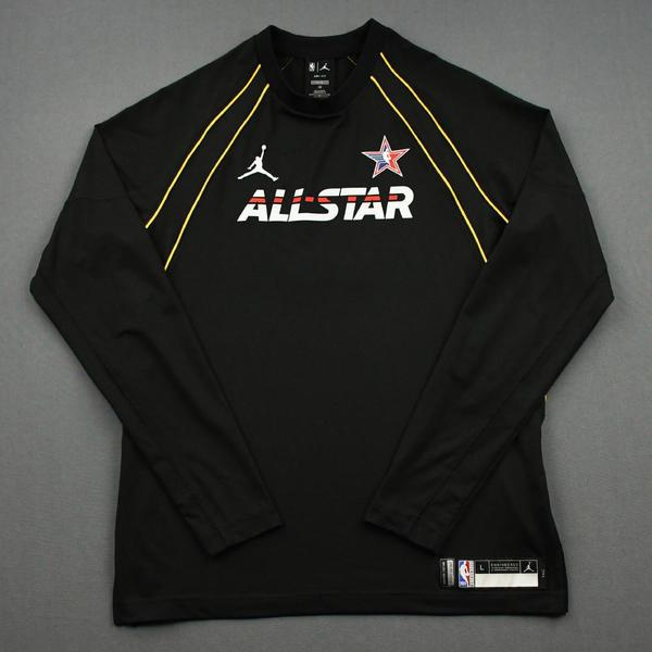 Image of Bradley Beal - Game-Worn 2021 NBA All-Star Long-Sleeved Shooting Shirt
