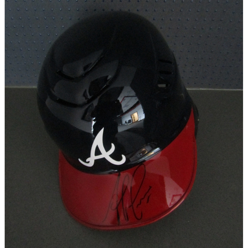 Braves Charity Auction - Ozzie Albies Autographed Helmet