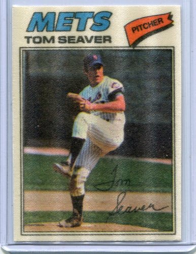 Photo of 1977 Topps Cloth Stickers #42 Tom Seaver