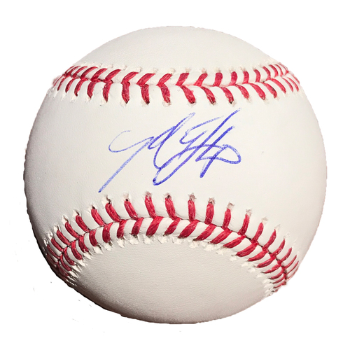 Photo of San Francisco Giants - Autographed Ball - Madison Bumgarner