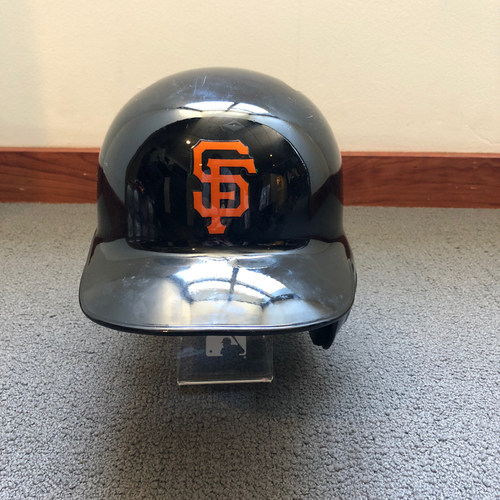 Photo of San Francisco Giants - Hunter Pence 2018 Spring Training Batting Helmet. Helmet Size - 7 1/2