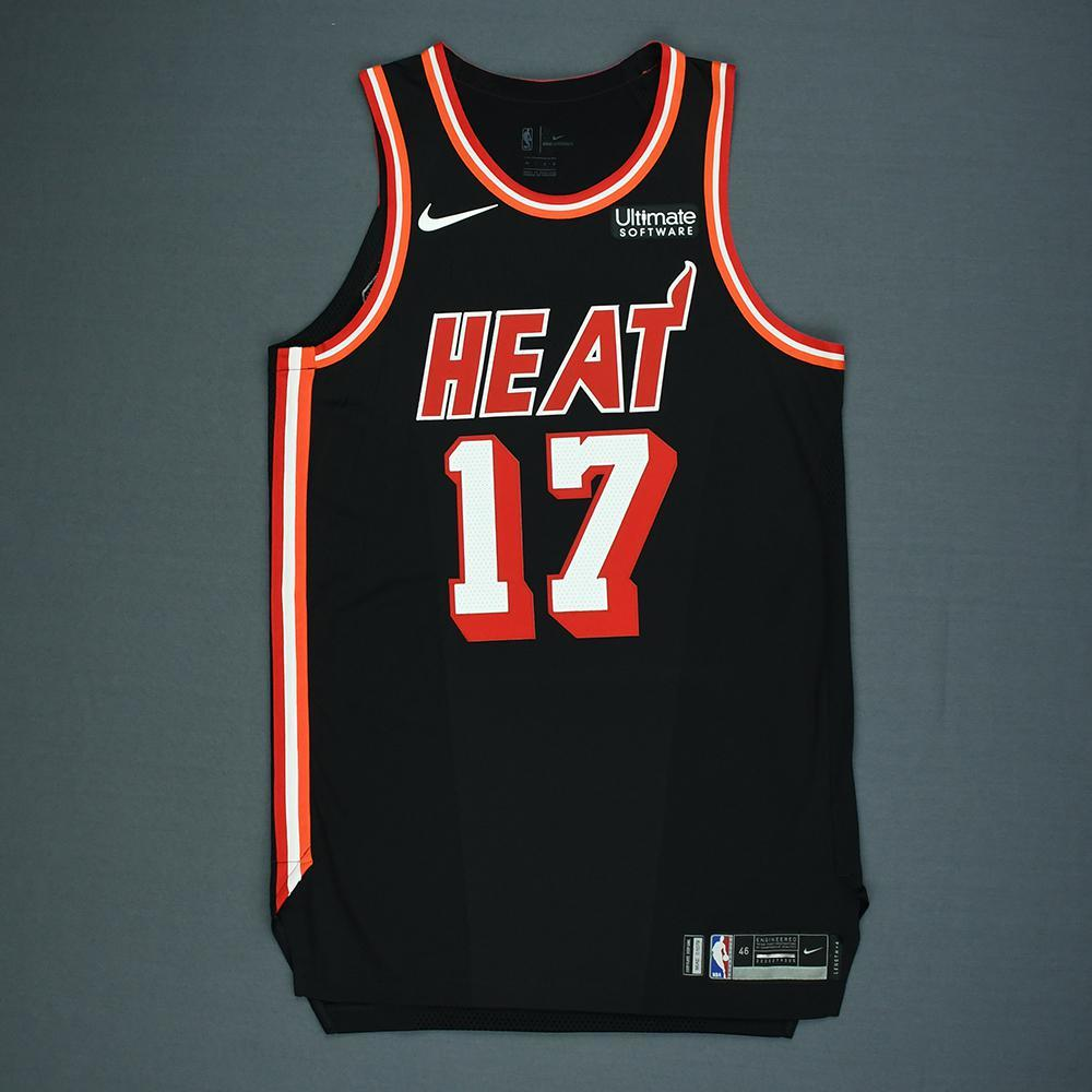 Rodney McGruder - Miami Heat - Game-Issued Classic Edition 1988-99 Road Jersey - 2017-18 Season