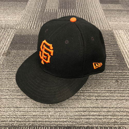 San Francisco Giants - 2018 Game Used Cap worn by #1 Gregor Blanco on 9/30/18 vs. LAD - Size 7 1/4