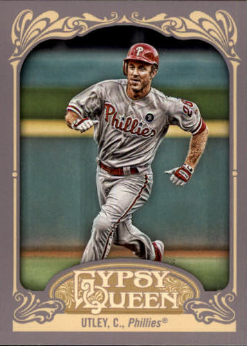 Photo of 2012 Topps Gypsy Queen #286 Chase Utley