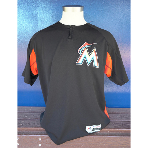 Photo of Team-Issued Batting Practice Jersey: Don Mattingly #8 - 2018 Season - Size: XL