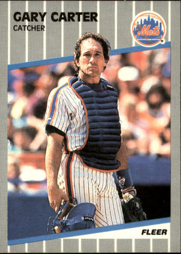 Photo of 1989 Fleer #30 Gary Carter