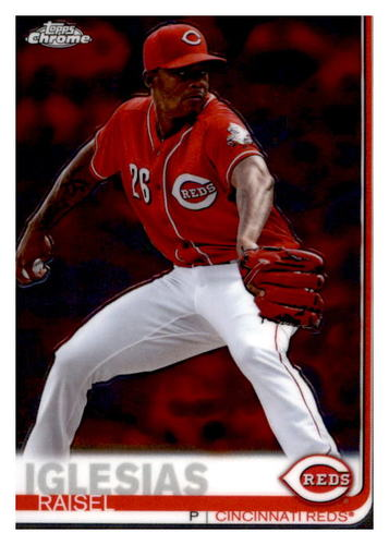 Photo of 2019 Topps Chrome #192 Raisel Iglesias