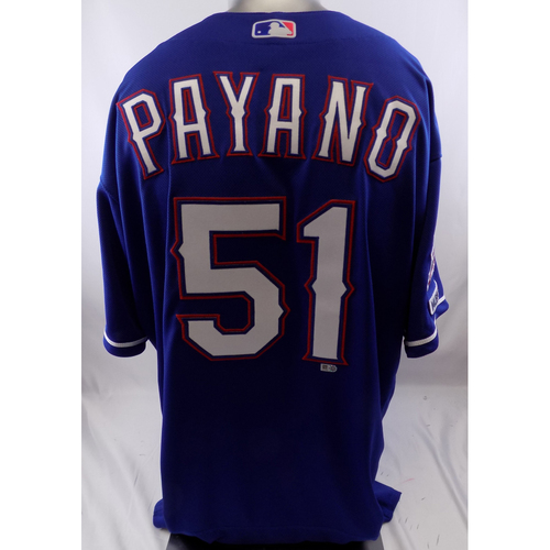 Photo of Blue Team-Issued Jersey - Pedro Payano - 10/8/19