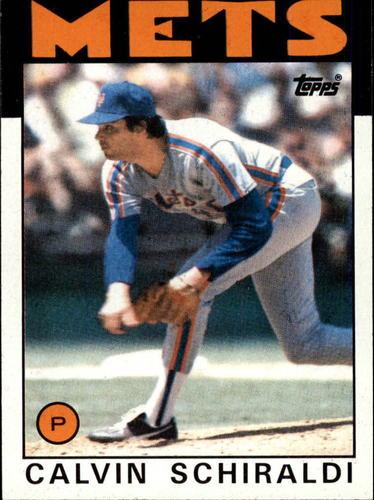 Photo of 1986 Topps #210 Calvin Schiraldi