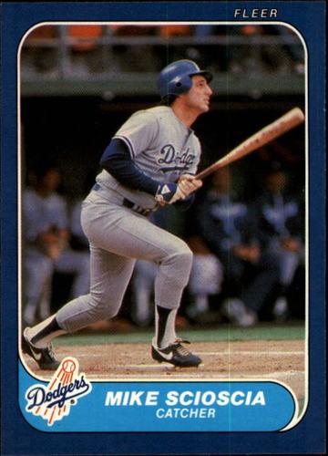 Photo of 1986 Fleer #144 Mike Scioscia