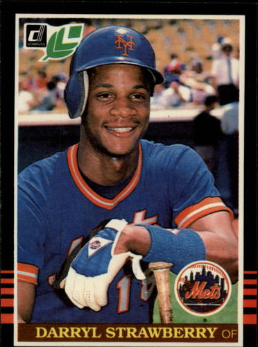 Photo of 1985 Leaf/Donruss #159 Darryl Strawberry
