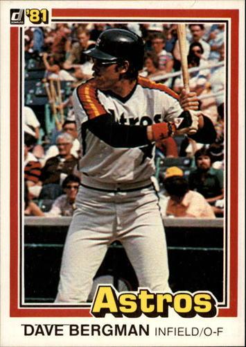 Photo of 1981 Donruss #139 Dave Bergman