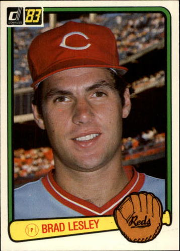 Photo of 1983 Donruss #547 Brad Lesley