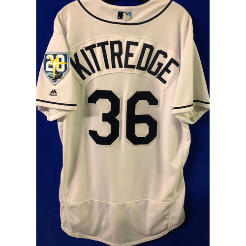 Photo of 20th Anniversary Game Used Jersey: Andrew Kittredge (5 Games)