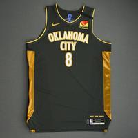 Danilo Gallinari - Oklahoma City Thunder - Game-Worn City Edition Jersey - Double-Double - 2019-20 Season