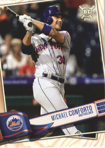 Photo of 2019 Topps Big League #181 Michael Conforto