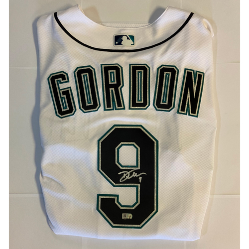 Photo of Dee Gordon Autographed Authentic Mariners Jersey