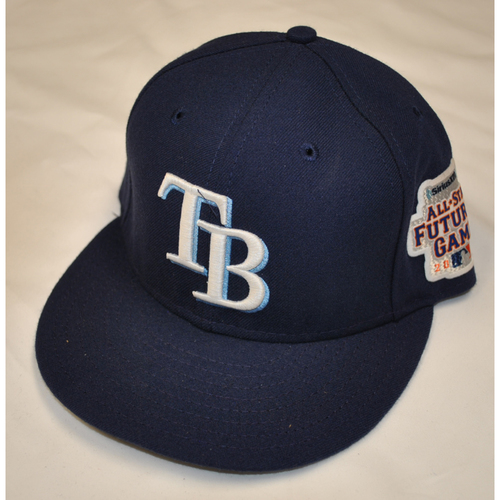 Photo of Game-Used Cap - 2013 All-Star Futures Game - Enny Romero (Tampa Bay Rays) - Size 7 1/8