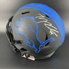 NFL - Lions Eclipse Helmet Signed by Frank Ragnow TJ Hockenson and Jack Fox