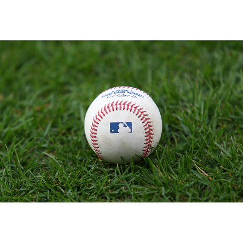 Photo of Game-Used Opening Day Baseball - Boston Red Sox at Baltimore Orioles (4/8/2021)
