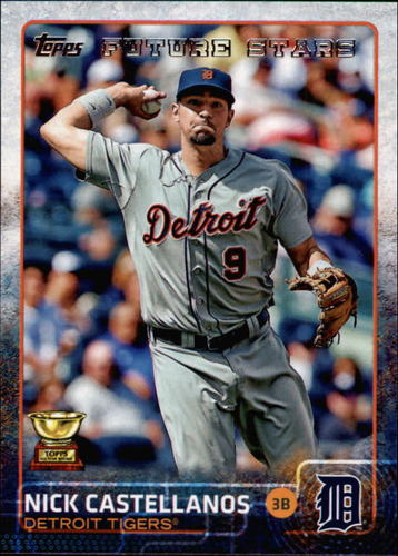 Photo of 2015 Topps #521 Nick Castellanos FS