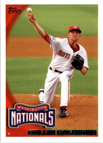 Photo of 2010 Topps #654 Collin Balester