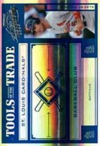 Photo of 2004 Absolute Memorabilia Tools of the Trade Blue Spectrum #5 Albert Pujols A