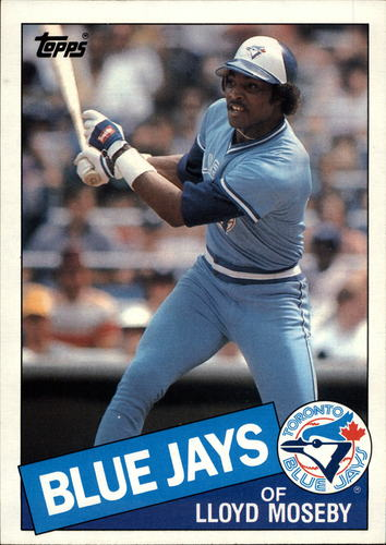 Photo of 1985 Topps Super #39 Lloyd Moseby
