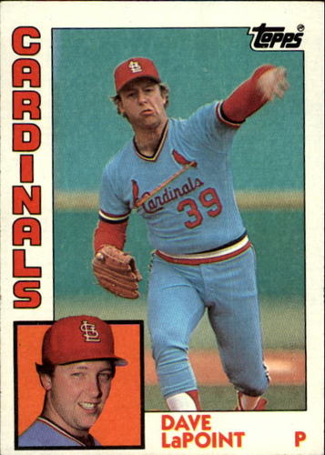 Photo of 1984 Topps #627 Dave LaPoint