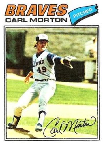 Photo of 1977 Topps #24 Carl Morton
