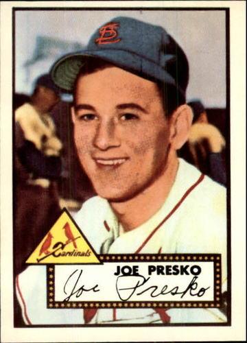Photo of 1983 Topps 1952 Reprint #220 Joe Presko