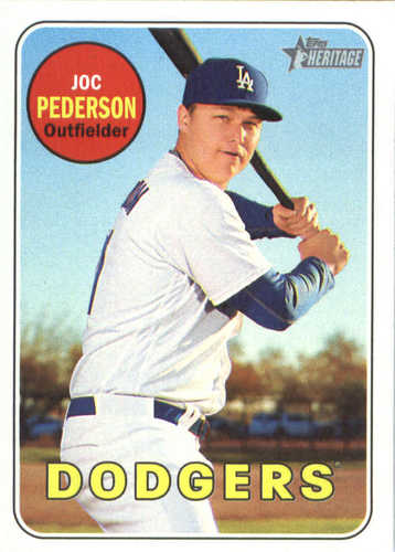 Photo of 2018 Topps Heritage #236 Joc Pederson