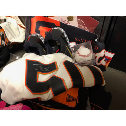 "Photo of Giants Wives Auction: Ty Blach ""Favorite Things"" Basket"