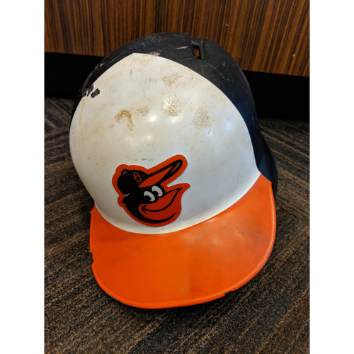 Photo of Tim Beckham - Home Batting Helmet: Team-Issued