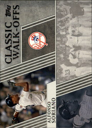 Photo of 2012 Topps Classic Walk-Offs #CW8 Alfonso Soriano