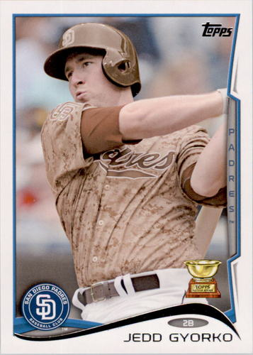 Photo of 2014 Topps #449 Jedd Gyorko