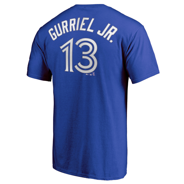 Toronto Blue Jays Lourdes Gurriel Jr. Player T-Shirt by Majestic