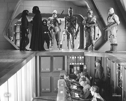 Darth Vader, Boba Fett, Bossk, Dengar, 4-LOM, Zuckuss and IG-88