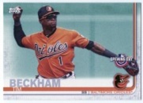 Photo of 2019 Topps Opening Day #64 Tim Beckham