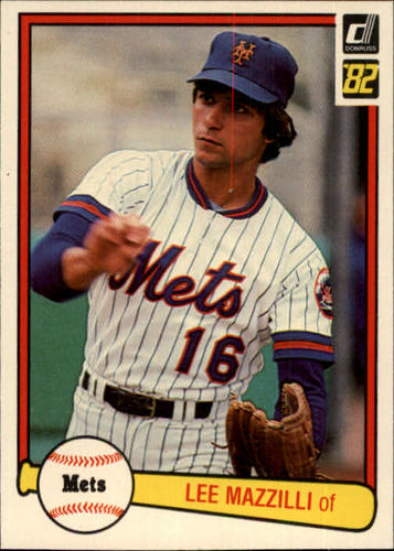 Photo of 1982 Donruss #49 Lee Mazzilli