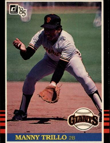 Photo of 1985 Donruss #431 Manny Trillo