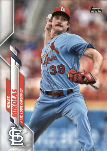 Photo of 2020 Topps #13 Miles Mikolas