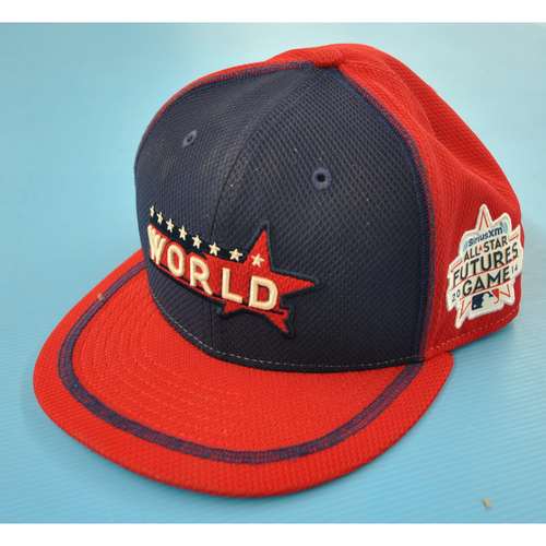 Photo of Game-Used Cap - 2014 All-Star Futures Game - Domingo Santana (Houston Astros) - Size 7 1/2