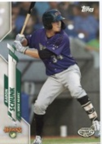 Photo of 2020 Topps Pro Debut #PD101 Aaron Schunk