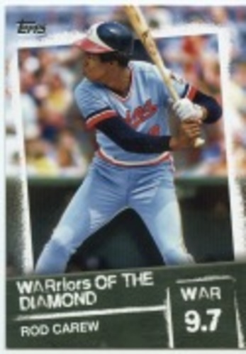 Photo of 2020 Topps Warriors of the Diamond #WOD47 Rod Carew