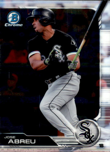 Photo of 2019 Bowman Chrome #69 Jose Abreu