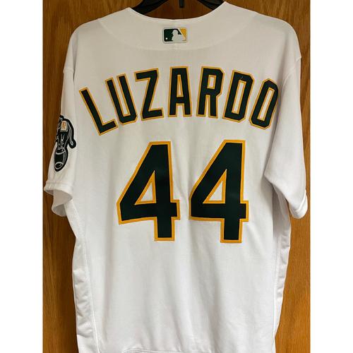 Game-Used Jersey - Jesus Luzardo - 4/7/21 vs Dodgers