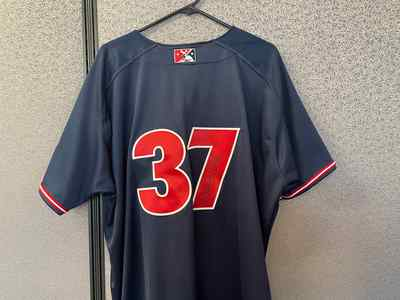 Robinson Cancel Game-Used & Autographed Growers Jersey