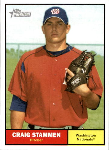 Photo of 2010 Topps Heritage #174 Craig Stammen